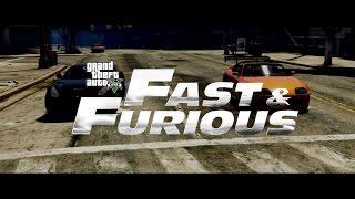 The Fast & The Furious Inaccurate Remake | GTA 5 Machinima | Rockstar Editor