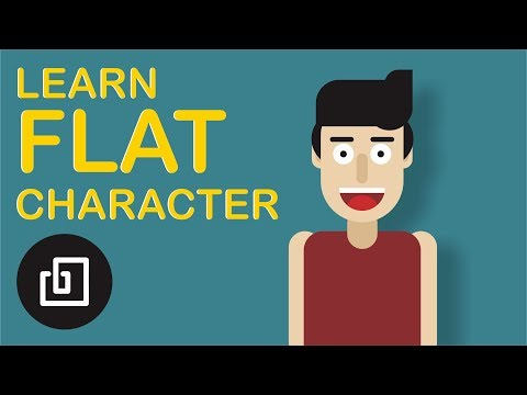 Easy way to Draw Flat Design Character - CorelDRAW Tutorials