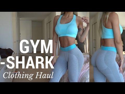 GYMSHARK CLOTHING HAUL | try on