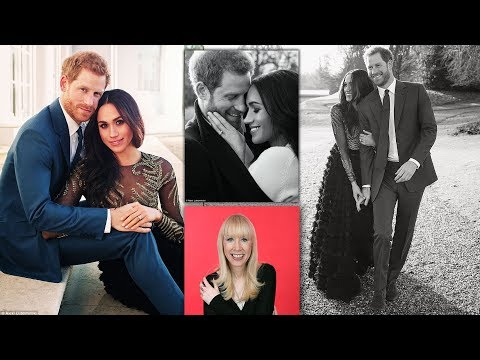 Body language expert's opinion on Harry and Meghan's engagement shots