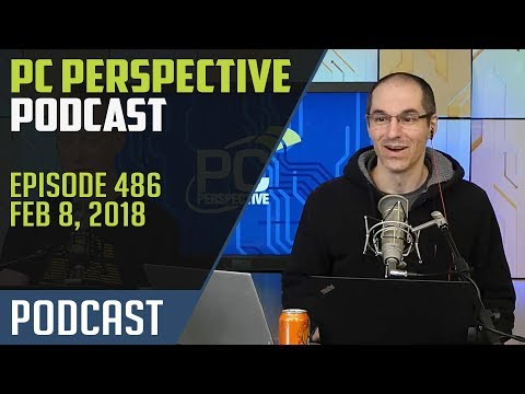 Podcast #486 - AMD Mobile APUs, new Xeon-D processors,EPYC offerings from Dell, and more!