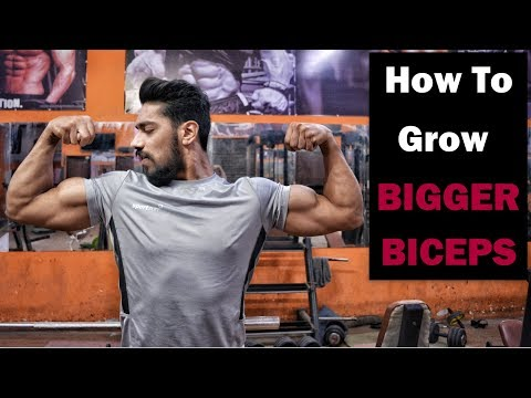 How To Get BIGGER BICEPS Fast | Top 5 Biceps Exercise
