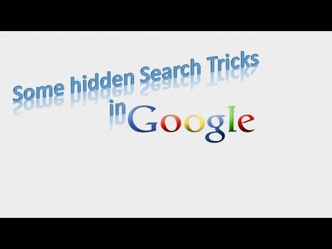 Hidden   google  secrets  | fun with google |
