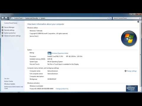 How to check if i have Windows XP, Vista, Windows 7