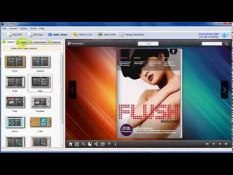 How create table of contents for page flip digital magazine | Flip HTML5