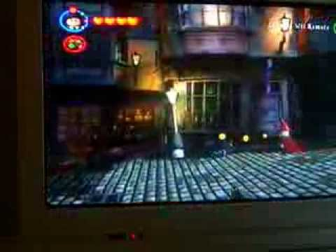 Lego Harry Potter Years 1-4 Reducto in Year 2 Trick