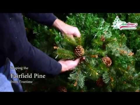 Farifield Pine Artificial Christmas Tree - Shaping Video