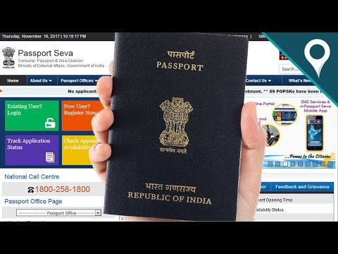 How to Apply Online Indian Passport Application