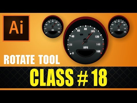 Create a Stylish Car Speed Meter in Adobe illustrator CC 2017 Experiment Course Part# 18 urdu-hindi