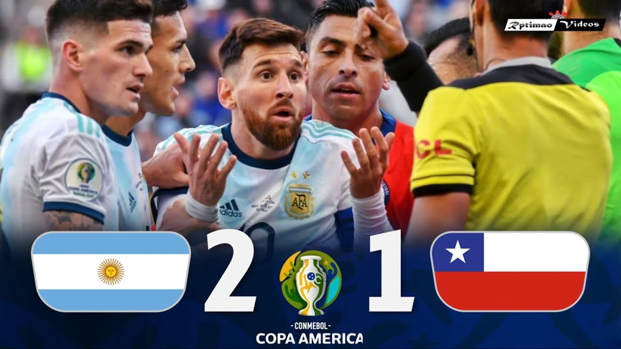 Argentina 2 x 1 Chile ● 2019 Copa América 3rd Place Extended Goals & Highlights HD
