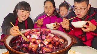 4斤五花肉,这样做最过瘾,肥而不腻,妈妈最爱吃了,可是吃美了!【陕北霞姐】