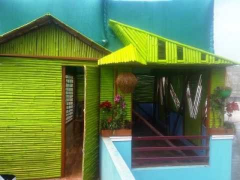 Bamboo Roof/Terrace Green Tents