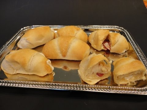 Cheese Filled Crescents (Appetizer)