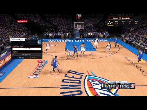 NBA 2K15 No turnovers
