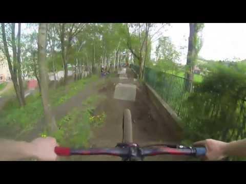 Ostrava - Bikepark Betonak , skatepark + Dirtpark