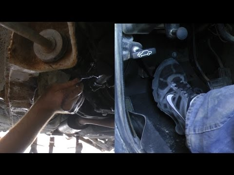 How To Change Your Clutch Fluid (Slave Cylinder)