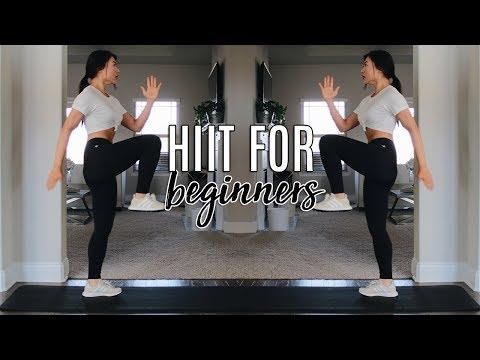 Beginner Friendly Fat Burning HIIT Workout