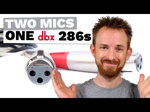 Can You Plug Two Mics into One Jack on the dbx 286s or use a dbx 166xs
