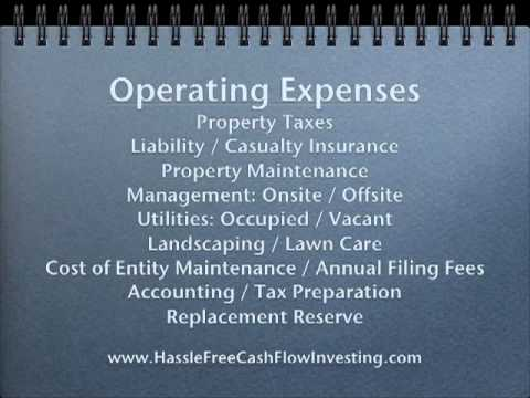 Investor Training Video 4 - Net Operating Expenses