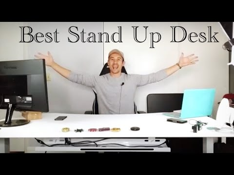 ApexDesk Electric Stand Up / Sit Down Desk: My Best Youtube / Office / Gaming Desk