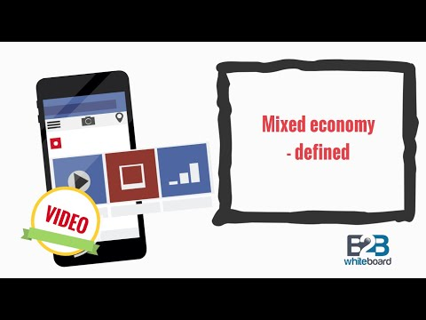 Mixed economy - defined