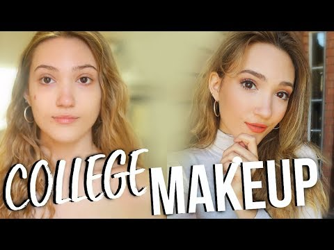 Everyday College Makeup Routine 2018