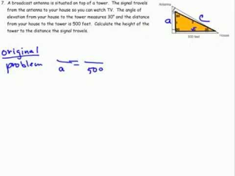 Special Right Triangles 30 60 90 Part 4