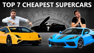 Top 7 Cheapest Supercars You Can Buy