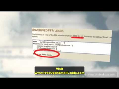 Free Email Address List Download