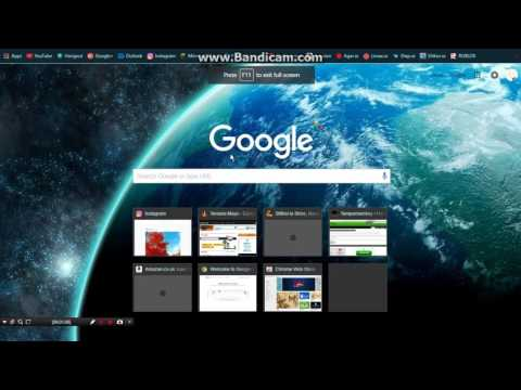 How To | Make Google Chrome Fullscreen!