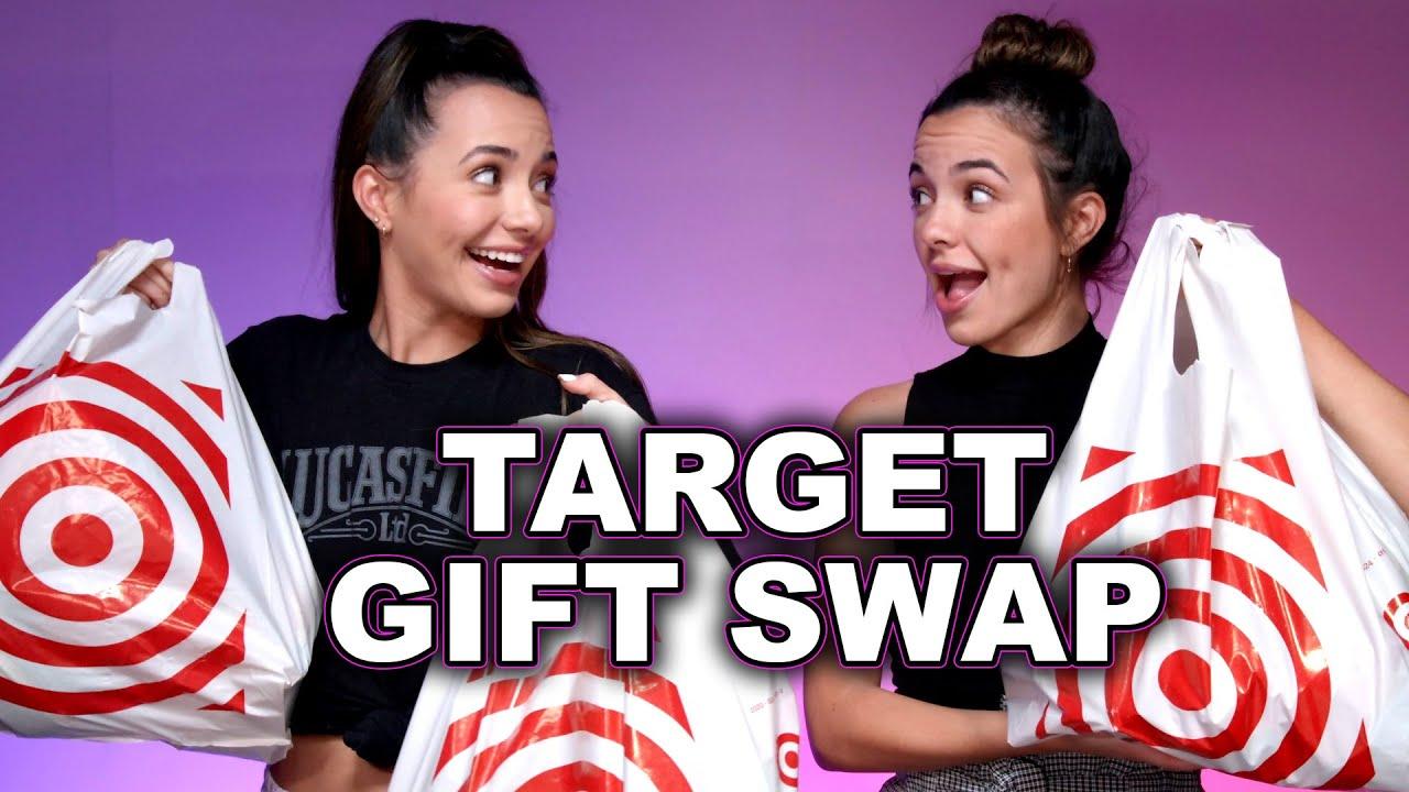Target Gift Swap Challenge - Merrell Twins