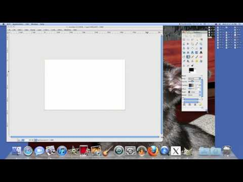 How to use the gradient tool in GIMP Photo editing software.