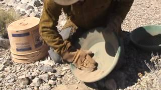HOW TO DRY PAN !!! To Find Desert Gold.