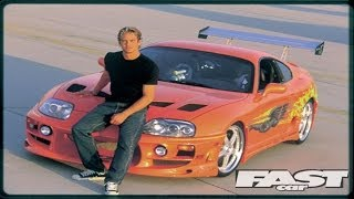 SLRR: The Fast and The Furious Paul Walker Tribute - Toyota Supra Remake