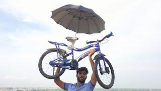 Can an Umbrella save this Cycle ? | क्या छाता साईकल को बचा लेगा ?