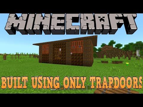 Minecraft Trapdoor House Tutorial