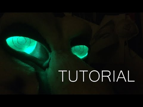 Fursuit Fan and LED Eye Tutorial
