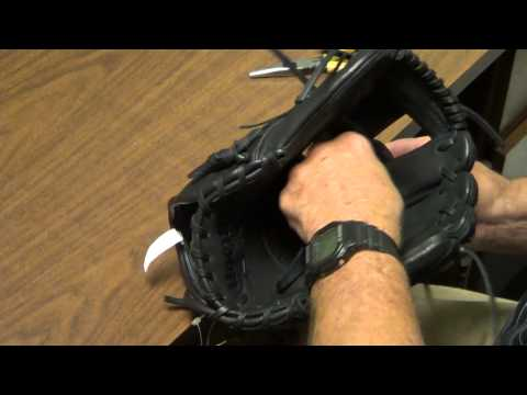 Wilson Glove remove and replace Web (video 1 of 3)