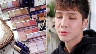 Trying the VT x BTS makeup + Review - Edward Avila