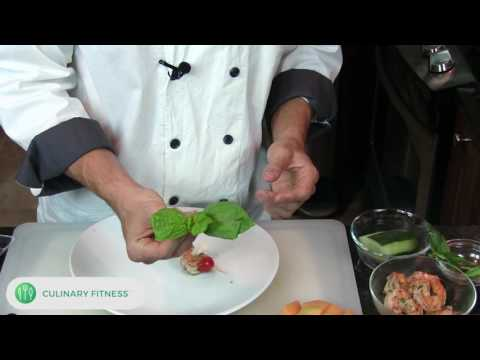 Caprese Skewers - Hors d'oeuvres | Chef Dennis Berry | Healthy Cooking Videos