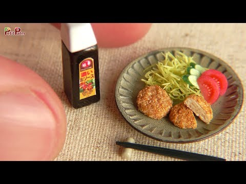 DIY Miniature Japanese style croquettes   Petit Palm