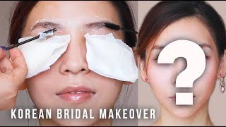 I Get a Bridal Makeover by Korean Celebrity Makeup Artists