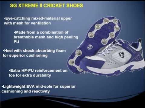 SG Cricket Shoes@khelmart