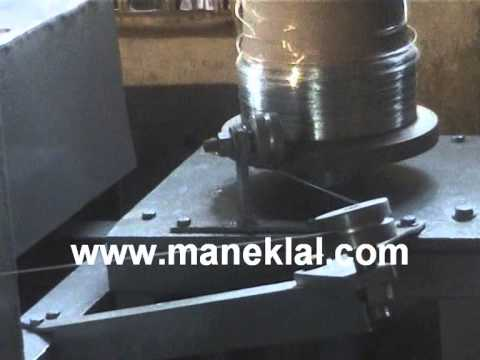 Manek - Wet Wire Drawing Machine with Three Capstan Type Step Pulleys and 21 Drawing Dies