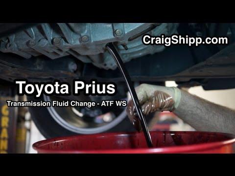 Prius Transmission Fluid Change (eCVT)