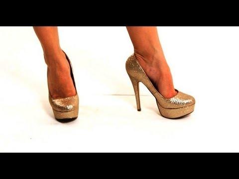 How to Walk in Heels with Flat Feet | High Heel Walking