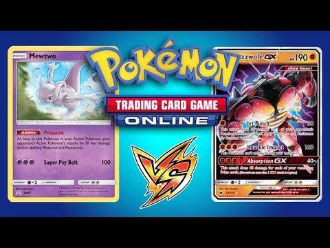 Necrozma GX / Malamar vs Buzzwole GX / Lycanroc - Pokemon Trading Card Game Online Gameplay