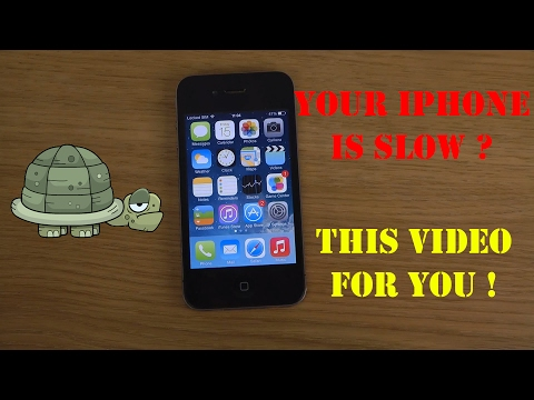 HOW To Speed Up Any iPhone ( 4, 4s, 5, 5c and 5s ) Any iOS from 7 to 9.3.5