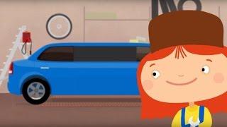 Doktor Mac Wheelie - Ein kleines Auto wird zur Limousine - Cartoon für Kinder
