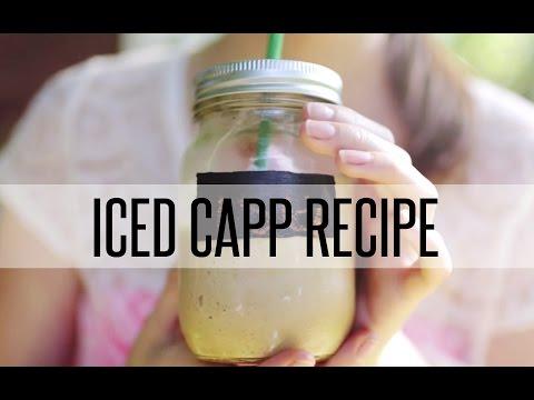 ICED CAPP RECIPE